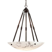 Metropolitan Signature 6 Light Pendant in Bronze Patina N3606-BP
