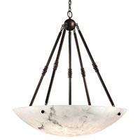 Metropolitan Signature 8 Light Pendant in Bronze Patina N3608-BP