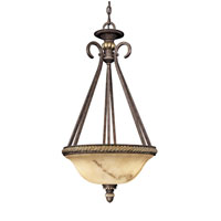 Metropolitan Metropolitan Family 3 Light Pendant in Golden Bronze N3633-355