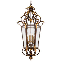 Zaragoza 8 Light 26 inch Golden Bronze Foyer Pendant Ceiling Light