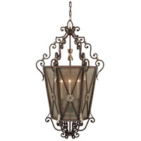 Metropolitan N3640-301 Signature 3 Light 27 inch Castlewood Walnut/Silver Foyer Pendant Ceiling Light alternative photo thumbnail