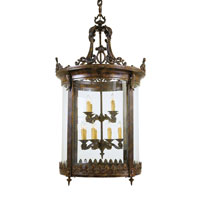 Metropolitan Metropolitan Family 12 Light Foyer Chandelier in Aged Bronze N3647 photo thumbnail