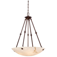 Virtuoso II 5 Light 27 inch Bronze Patina Pendant Ceiling Light