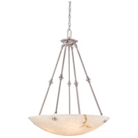 Virtuoso II 5 Light 27 inch Plated Pewter Pendant Ceiling Light in Pewter (Plated)