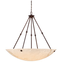 Metropolitan N3708-BP Virtuoso II 8 Light 43 inch Bronze Patina Pendant Ceiling Light