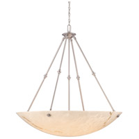 Virtuoso II 8 Light 43 inch Plated Pewter Pendant Ceiling Light in Pewter (Plated)