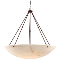 Virtuoso Ii 12 Light 59 inch Bronze Patina Pendant Ceiling Light