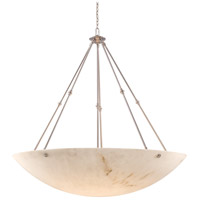 Virtuoso II 12 Light 59 inch Plated Pewter Pendant Ceiling Light in Pewter (Plated)