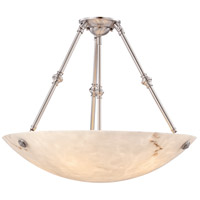 Virtuoso Ii 5 Light 27 inch Pewter Plated Semi Flush Mount Ceiling Light in Pewter (Plated)