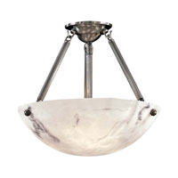 Metropolitan Signature 3 Light Semi Flush in Pewter N3903-PW
