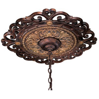 Metropolitan Zaragoza Ceiling Medallion in Golden Bronze N5231-355