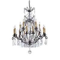Metropolitan Metropolitan Family 15 Light Chandelier in Patina Bronze N561C-BZ photo thumbnail