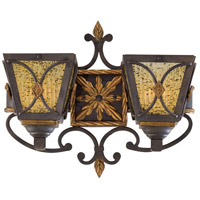Monte Titano 2 Light 17 inch Monte Titano Oro Sconce Wall Light