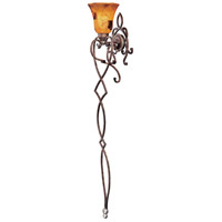 Metropolitan Gran Canaria 1 Light Torchiere in Cartouche Bronze N6058-265