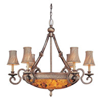 Metropolitan Gran Canaria 9 Light Chandelier in Cartouche Bronze N6060-265 photo thumbnail