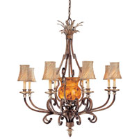 Metropolitan Gran Canaria 11 Light Chandelier in Cartouche Bronze N6062-265