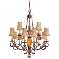 Metropolitan Gran Canaria 13 Light Chandelier in Cartouche Bronze N6063-265