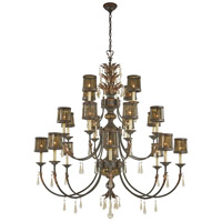 Sanguesa 22 Light 58 inch Sanguesa Patina Chandelier Ceiling Light