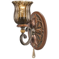 Sanguesa 1 Light 8 inch Sanguesa Patina Bath Bar Wall Light
