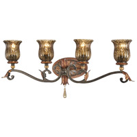 Sanguesa 4 Light 33 inch Sanguesa Patina Bath Bar Wall Light
