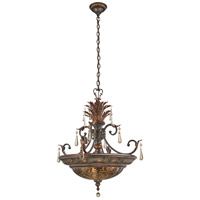 Sanguesa 3 Light 26 inch Sanguesa Patina Bowl Pendant Ceiling Light