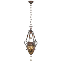 Sanguesa 3 Light 14 inch Sanguesa Patina Pendant Ceiling Light