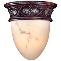 Metropolitan Scarborough  2 Light Sconce in Bronze Patina with Silver Highlights N6090-18B
