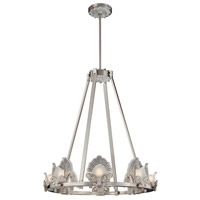 Metropolitan Escalona 8 Light Chandelier in Brushed Nickel N6190-84