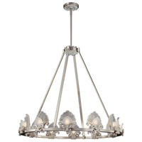 Metropolitan Escalona 12 Light Chandelier in Brushed Nickel N6191-84