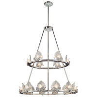 Metropolitan Escalona 18 Light Chandelier in Brushed Nickel N6192-84