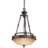Metropolitan Catalonia 3 Light Pendant in Aged Bronze N6201-26