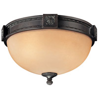 Metropolitan Catalonia 2 Light Flushmount in Aged Bronze N6210-26