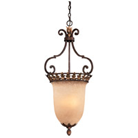 Zaragoza 3 Light 19 inch Golden Bronze Pendant Ceiling Light