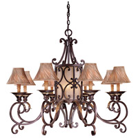 Metropolitan Zaragoza 11 Light Chandelier in Golden Bronze (shade sold separately) N6244-355