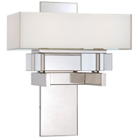 Metropolitan Eden Roe 2 Light Sconce in Polished Nickel N6260-613