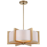 Metropolitan Family 4 Light Pendant in Honey Gold N6263-248