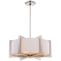 Metropolitan Family 4 Light Pendant in Polished Nickel N6263-613