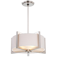 Signature 3 Light 20 inch Polished Nickel Pendant Ceiling Light
