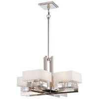 Metropolitan Eden Roe 8 Light Chandelier in Polished Nickel N6267-613