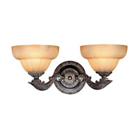 Metropolitan Signature 2 Light Sconce in Versailles N6332-360