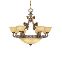 Metropolitan Cantabria 13 Light Chandelier in Tuscan Patina N6348-196