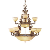 Metropolitan Cantabria 19 Light Chandelier in Tuscan Patina N6349-196