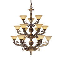 Metropolitan Navarra 15 Light Chandelier in Tuscan Patina N6363-196