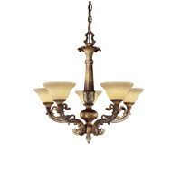 Metropolitan Navarra 5 Light Chandelier in Tuscan Patina N6365-196