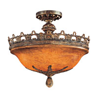 Metropolitan Tarragova  5 Light Semi Flush in Tarragova Bronze N6391-475 photo thumbnail