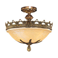 Metropolitan Tarragova 5 Light Semi-flush in Antique Bronze N6391-AN