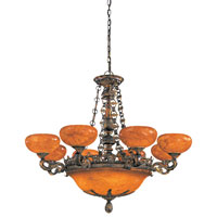 Metropolitan Tarragova 13 Light Chandelier in Tarragova Bronze N6398-475 photo thumbnail