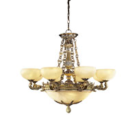 Metropolitan Tarragova 13 Light Chandelier in Antique Bronze N6398-AN