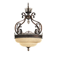 Metropolitan Signature 3 Light Pendant in Belcaro Walnut N6413-126