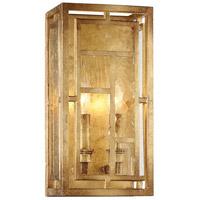 Metropolitan N6472-293 Edgemont Park 2 Light 7 inch Pandora Gold Leaf Wall Sconce Wall Light